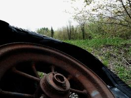 Old Tire by OwenneiL
