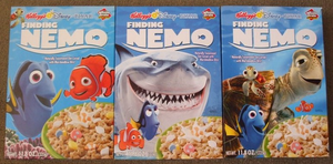 Finding Nemo Cereals by Gamekirby