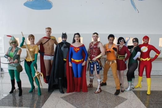 The Gender Bent Justice League by miss-kitty-j
