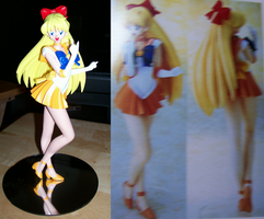 Sailor Venus Compare by HeiKurashi