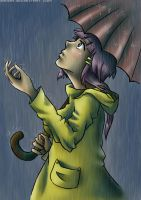 rainy day by Kakika
