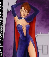 Kitty Pryde as the Black Queen from Mutant X-verse by SatyQ