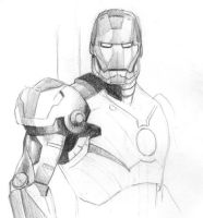 Iron man by johnleestudio