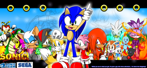 Sonic the  Hedgehog -OLD ART- by ScittyKitty