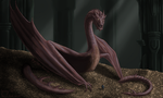 Smaug the Magnificent by Draethius