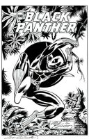 Black Panther Inks By Anthony L Fowler by TheInkPages