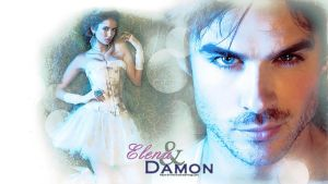 Elena And Damon S2 by hazelxxx