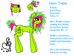 Neon Treble ref 2014 by SetkaPonies
