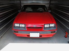 1986 Mustang Convertible - IV by Walking-Tall