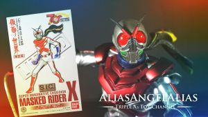S.I.C. Masked Rider X Limited 70th Anniversary by aliasangel2005