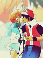 Red x Misty by Roxasaddict