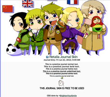 Hetalia Journal Skin by BrightenYourSmile
