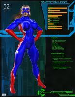 O52 File -  American Hero by Soviet-Superwoman