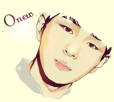 Onew by Pulimcartoon