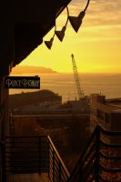 Sunset in Seattle by designcurve