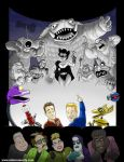 MYSTERY SCIENCE THEATER 3000 Print by DadaHyena