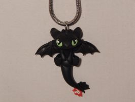 Toothless Necklace by XDtheBEASTXD