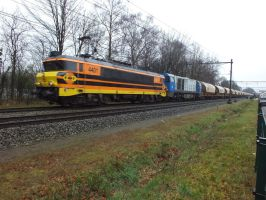 RRF 4401 and 1107 with dolimetrain. by damenster