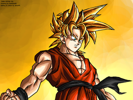 Teen Goten SSJ - DB UC by JJJawor