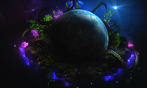 The Birth of a Planet by GFX-3ngine