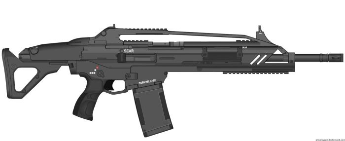 Crysis Mk20 SCAR (v2.0) by Scarlighter