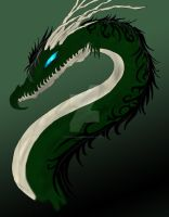 Request - Green Dragon by flamingchibi