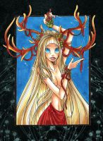 The Goddess of Yule by PinkPigtails