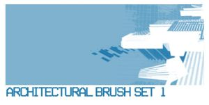Architectural Brush Set 1 by ardcor