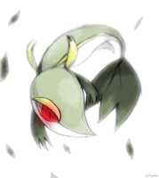 Snivy by Kipine
