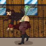 Asami Wedgie by archangemon