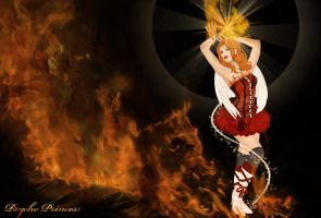 Flame Dancer by Psycho--Princess