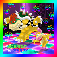 Bowser and Wendy- Dance Lesson by nokamarau