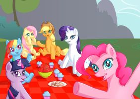Welcome to our picnic by SakuraYagami