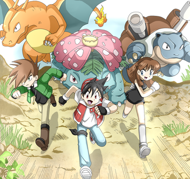 Pokemon Special GSC Chapter 179 The final battle by StarRockie