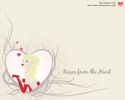 Kisses from the heart by ElkeF