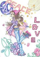 Peace and Love by amirila