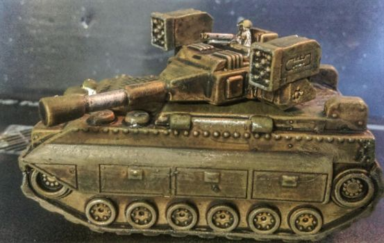 15mm Meerkats:  Heavy Tank by Spielorjh