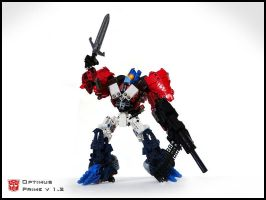 [MOC] Optimus Prime v 1.2 Robot Mode by QuQuS