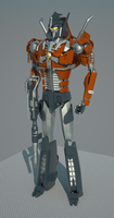 One more Optimus. Sketchup+Vray by raskayu77