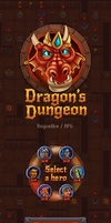 Some GUI elements from Dragon's Dungeon by Vadich