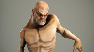 Deformed Man render by Akiratang