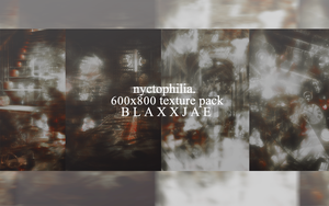 04 TEXTURE PACK - NYCTOPHILIA by blaxxjae