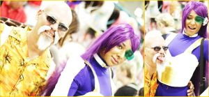 Animate Miami 2014: Pervy Master Roshi by MakeupSiren