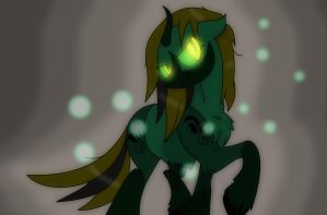 Forest Demon Pony by pegasus20101000