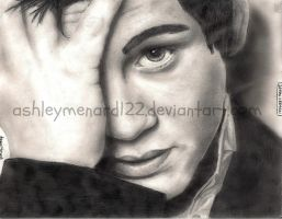 Logan Lerman Drawing by ashleymenard122