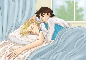 Morning Light -yaoi- by insectikette