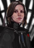 Sketch #165 Rogue one Study by Olieart