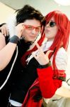 Narcon 2012 - Greed and Grell the awesome couple. by Millahwood