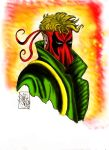 Grifter Portrait GIMP by CJRogue