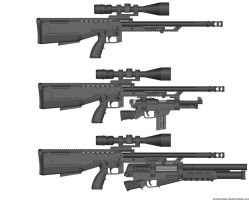 Twitter Rifle Mk VIII Compare by Lord-Malachi